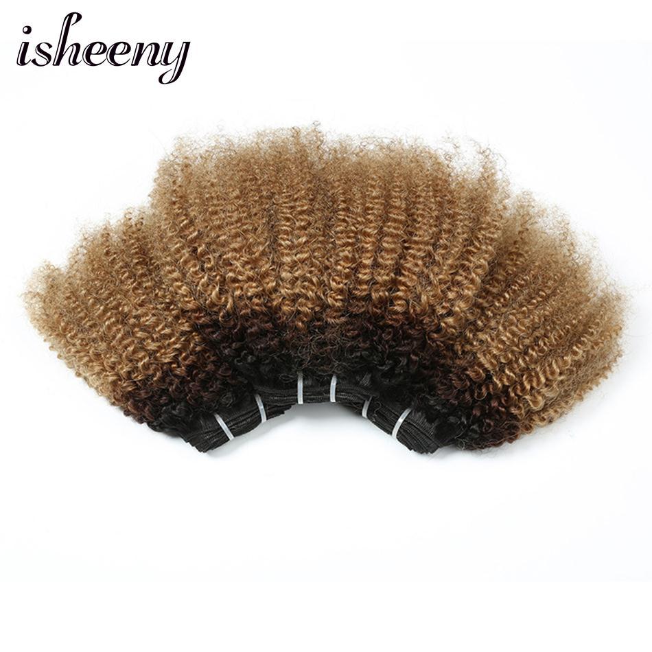 Isheeny Afro Kinky Curly Hair Weaving 12