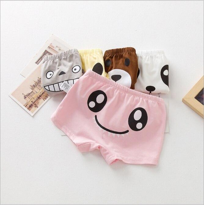 2017 Hot Boxers Girls Boys Underwears Panties Briefs Shorts Funny Cute Totoro Cotton Cartoon Image Kids Children underwear Brief u convex pouch stripe elastic waist boxers brief