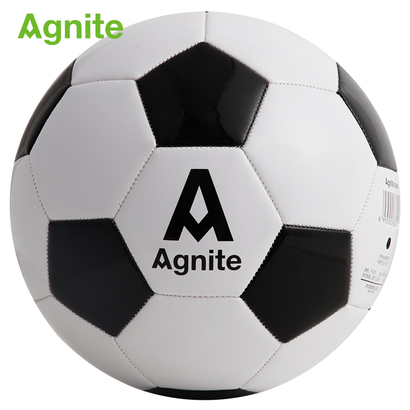 Agnite 2018 official football size 5 PVC F1203 adult football training durable soccer ball Suitable for a variety of weather ...