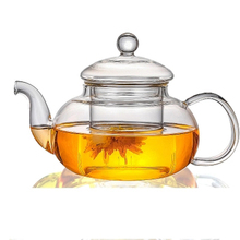 400 / 600 800ml Heat-resistant Glass Teapot Flower kettle Puer Herbal Pot Microwavable Stovetop Safe Tea Onsale Teaware