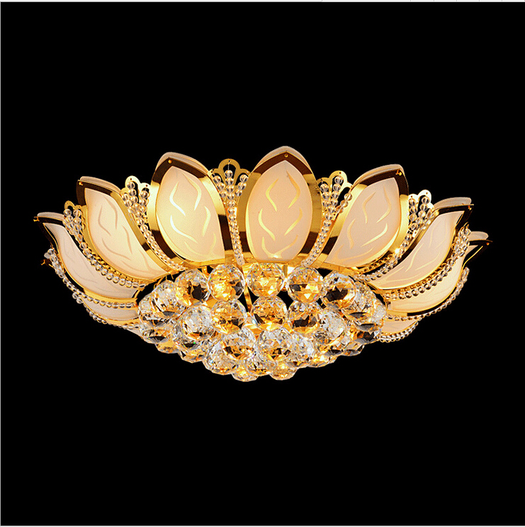 Free Shipping High Quality Modern Crystal Ceiling Lamp Golden Crystal Ceiling Lighting SY4062/4L D500MM AC 100% Guaranteed free shipping high quality modern crystal ceiling lamp golden crystal ceiling lighting sy4062 4l d500mm ac 100