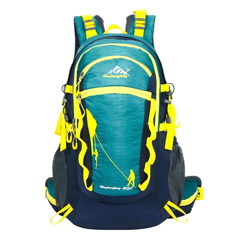 Prix pour Épaules alpinisme sacs 40L sac à dos Plein Air mâle femelle voyage sac cartable de Marche et de randonnée sport sac