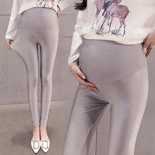 Весна/Лето Новые леггинсы забота о беременных женщин брюки для беременных брюки мода была тонкая одежда для беременных женщин