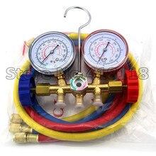 Medidor de carga de refrigerante R12 R22 R502, herramientas de diagnóstico AC
