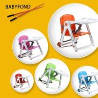 Портативный хорошее качество От 1 до 3 лет Пластик Портативный свет ребенка стул складной детский Многофункциональный младенческой Apramo
