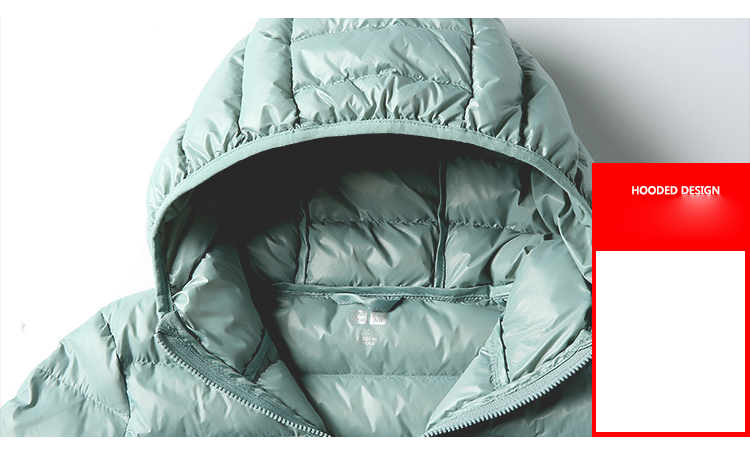 SEDUTMO Winter Plus Size 4XL Womens Down Jackets Short Ultra Light Duck Down Coat Hooded Puffer Jacket Autumn Parkas ED034 16