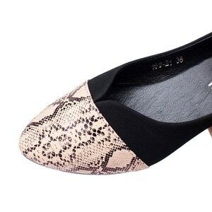 Image 5 - BEYARNE Pointed Toe Flats Sapatilha Ballerina Flats Ballet Shoes Women Sapato Feminino size 35 41