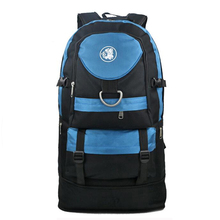 60L Extendable Outdoor Sport Survival Tactical Bag Mountaineering Shoulder Bag Large Capacity Hiking Backpack