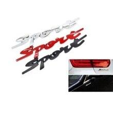 цена на Sport Car Stickers 3D Metal Emblem Refitting Badge Sticker Car Styling Auto Decoration accessories For Lexus RX ES IS