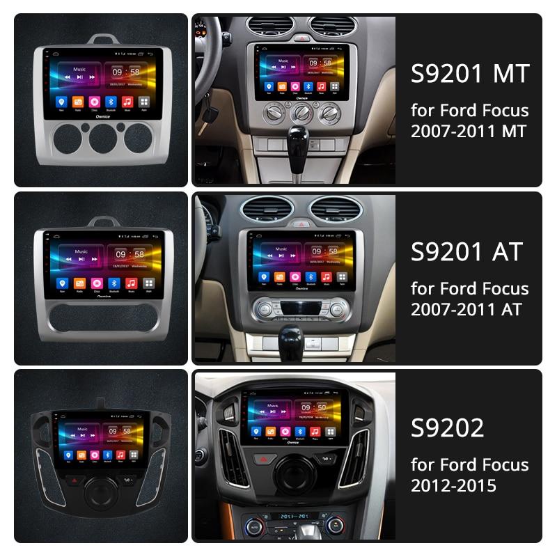 Ownice K1 K2 K3 Octa 8 Core 2 din Android 9.0 autoradio lecteur GPS Navi pour ford focus 2 3 Mk2/Mk3 hayon 2007-2015 - 2