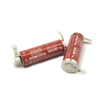 Free Shipping Wholesale 2pcs/lot Original MAXELL AA 14500 ER6C 3.6V Lithium Battery