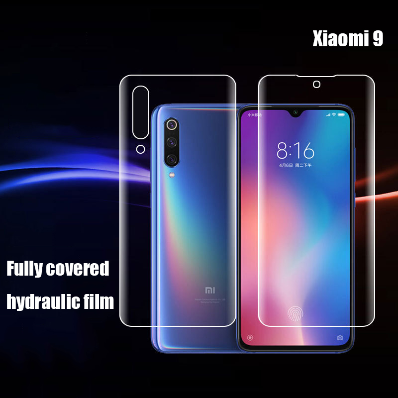 9D Hydrogel film For Xiaomi Mi 9 Anti-blue Film SE  Full Cover Frosted hydrogel Screen Protector Protective