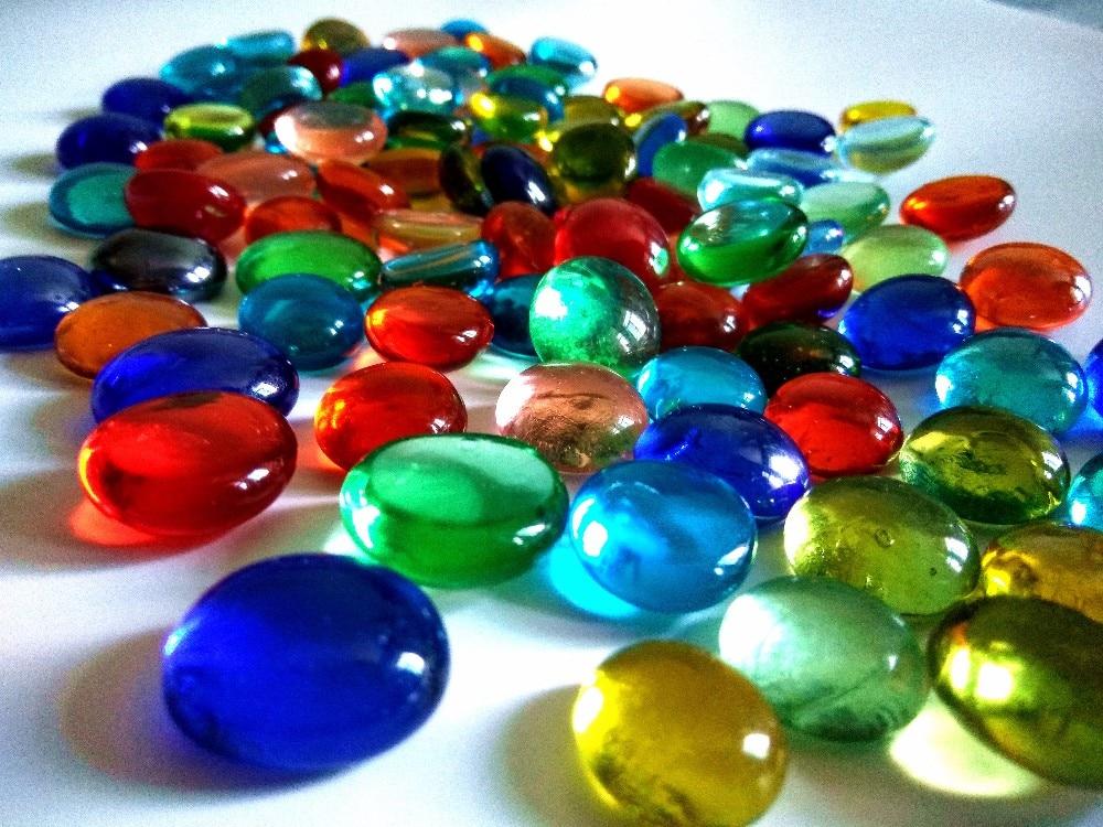 Glass Gems Creative Stuff Glass Vase Fillers Aquarium Rocks Gravel Stones
