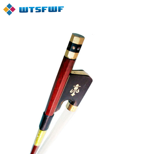 Wtsfwf 25pcs lot Full SIze Brazilwood Cello Bow Top Grade Pernambuco Cello Bow Flower Inlay Gold Mounted in Violin Parts Accessories from Sports Entertainment