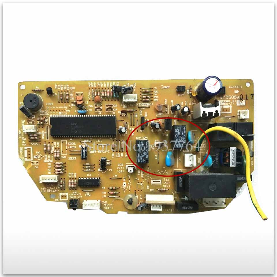 95% new for Mitsubishi Air conditioning computer board circuit board RYD505A017 good working 95% new