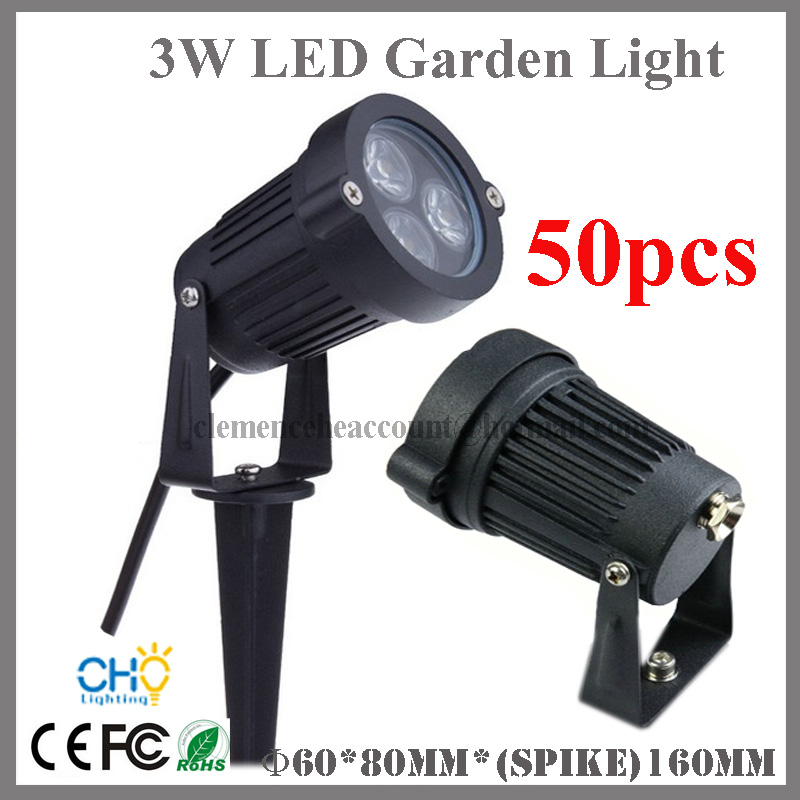 Free shipping 50pcs Outdoor LED Lighting Garden Spike Lights 12V IP67  Waterproof RGB LED Lawn Light