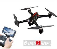 2017 MJX new B2W Bugs 2 W Rakasa Mainan Luar WIFI FPV profesional RC Drone Brushless GPS RC Quadcopter RTF 1080 P HD Kamera