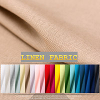133 155cm Wide Smooth Gentle And Cultivated 100 Linen Solid Color Fabric Free Shipping Cloth YMML18
