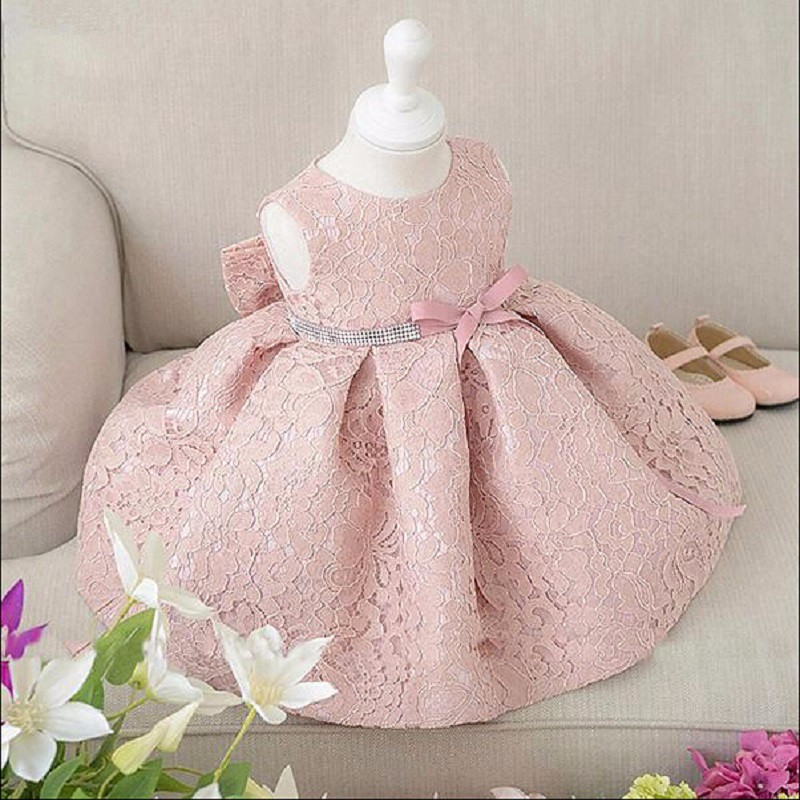 New Baby Girl Birthday Dress Ball Gown Christening Dresses 1 Tahun Girl Baby Birthday Dress Baby Girl Dress