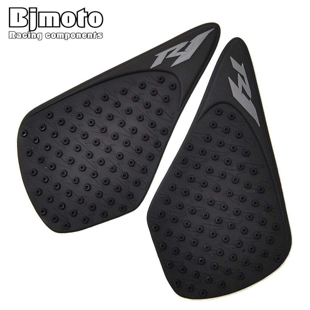 Bjmoto For Kawasaki Z800 2012-2016 Motorcycle Black Tank Pad Protector Sticker Decal Gas Knee Grip Tank Traction Pad Motorcycle Accessories & Parts Automobiles & Motorcycles