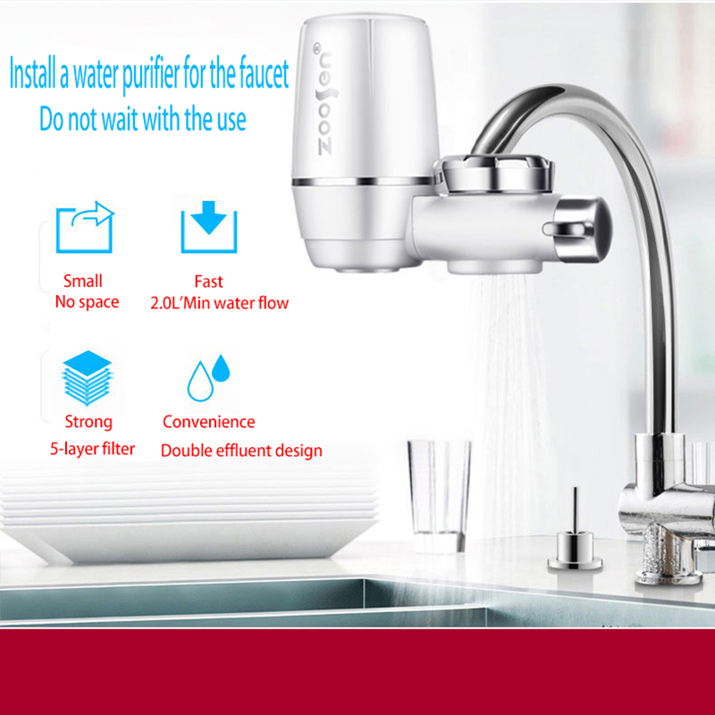 home faucet water purifier kitchen tap water filter gift water treasure