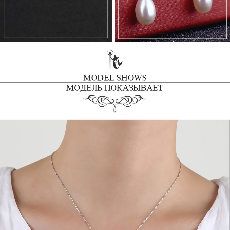 HTB19.cKcFkoBKNjSZFEq6zrEVXai NYMPH pearl jewelry sets natural freshwater pearl pendant earrings s925 sterling silver party gift T219