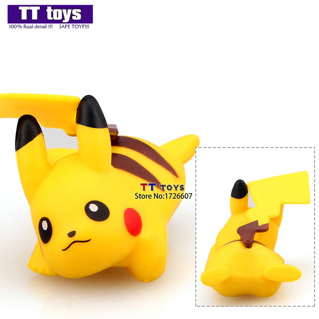 kz005 get down pikachu action figures single sale collections doll