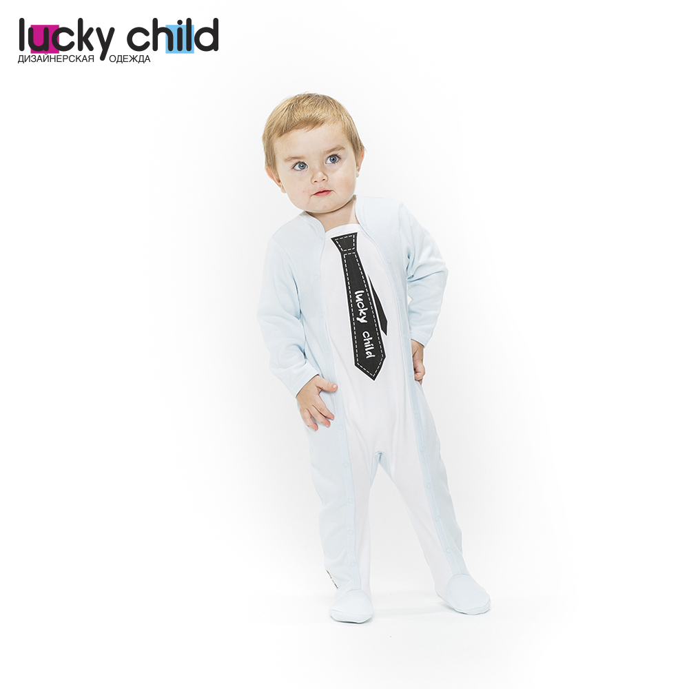 Jumpsuit Lucky Child for boys 3-18 Children's clothes kids Rompers for baby baby rompers 100