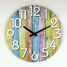 Modern Home Decoration Watch font b Wall b font Warranty 3 Years Silent Large Decorative font