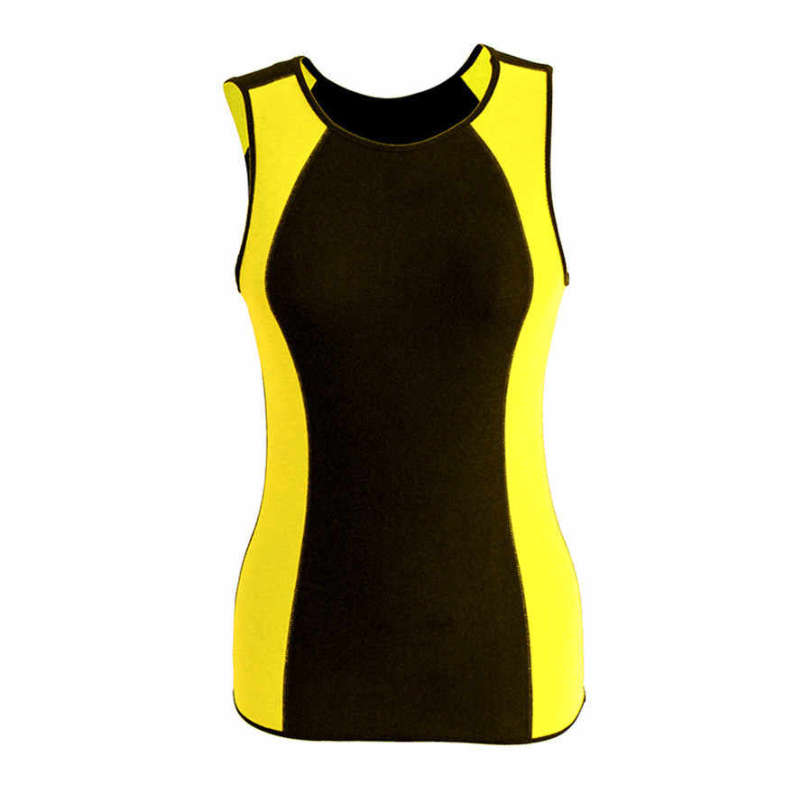 Riaude Новый утягивающий жилет для тела новые утягивающие майки неопреновый тренировочный жилет корсет для утяжки живота обтягивающая рубашка футболка сауна