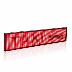Image 3 - Smart Wireless Led Sign Android iOS Program Message Board Multi Language Display Screen 50cm Red Message 1536 LEDs
