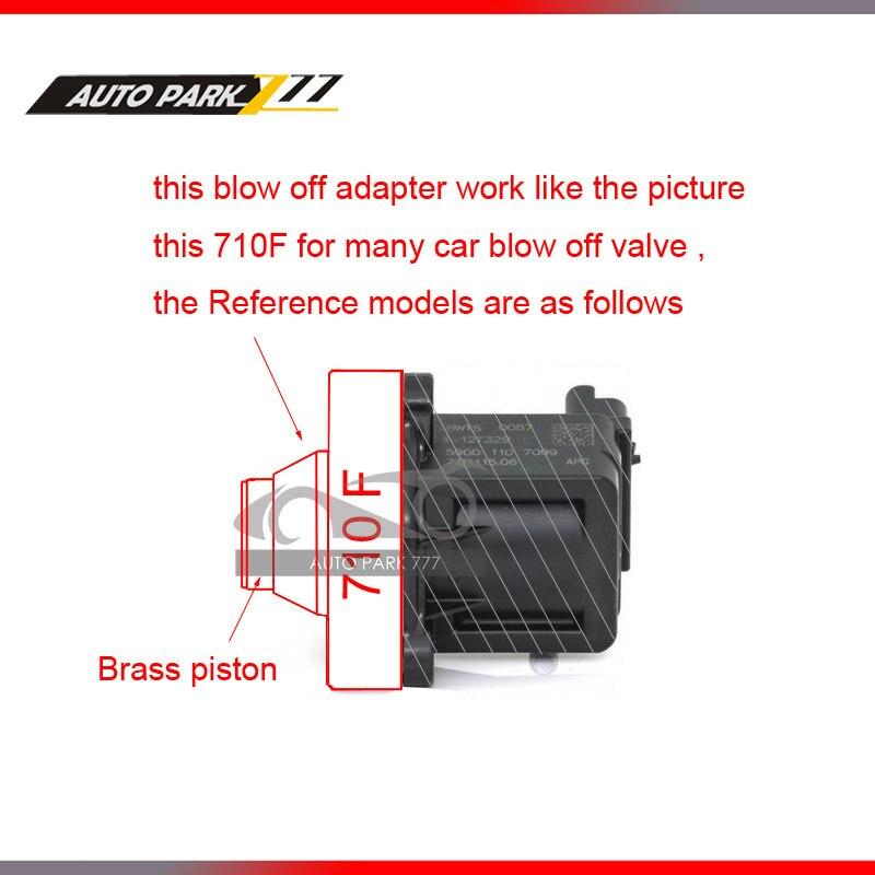 Auto bov blow off valve adaptateur pour vw mk5 6 ea113 ea888 moteur 710d dv blow off