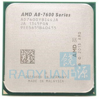 AMD A8 Series A8 7600 A8 7600 3.1GHz Quad Core CPU Processor AD7600YBI44JA AD760BYBI44JA Socket FM2+