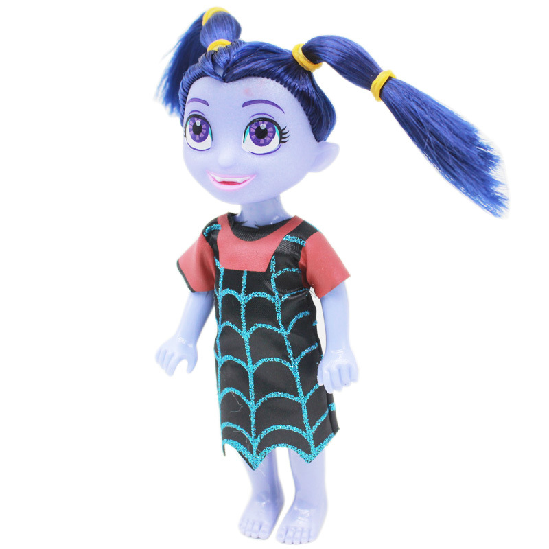 6 Inches Junior Vampirina The Vamp Girl Doll Vamp Bat Action Figures Toy Baby Girls Gifts Brinquedos