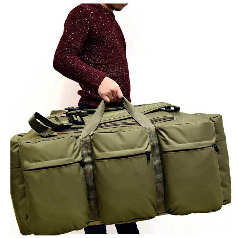 90L armée sac tactique grande capacité randonnée en plein air sac à dos militaire Pack Camouflage Camping assaut sac à dos