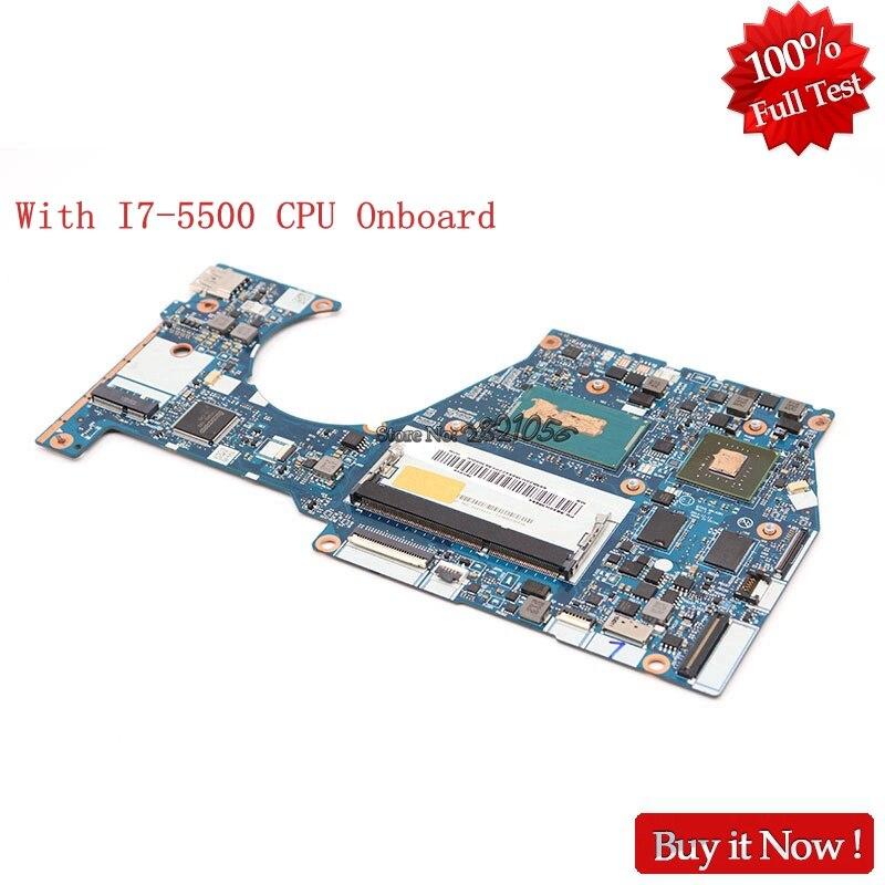 Scheda Madre Del Computer Portatile Per Lenovo Yoga 3 14 Del Computer Portatile di NOKOTION BTUU1 NM-A381 Scheda Principale W8S I7-5500 CPU DDR3L GeForce 940 m GPU