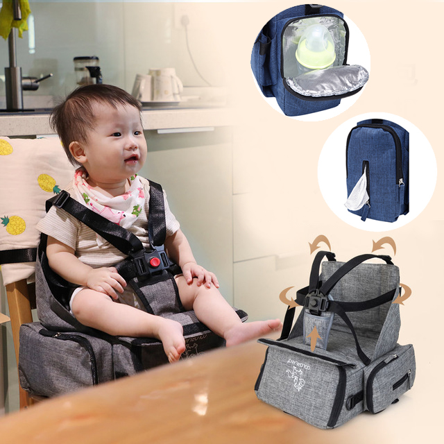 Multi Use Mummy Bag Baby Feeding High Chair Toddler Carriage Hanging Basket Dining Booster Seats Backpack Outdoor In From Mother