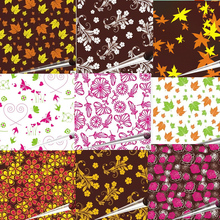 20 sheets Chocolate transfer paper / baking mold sheet cake  decoration free shipping