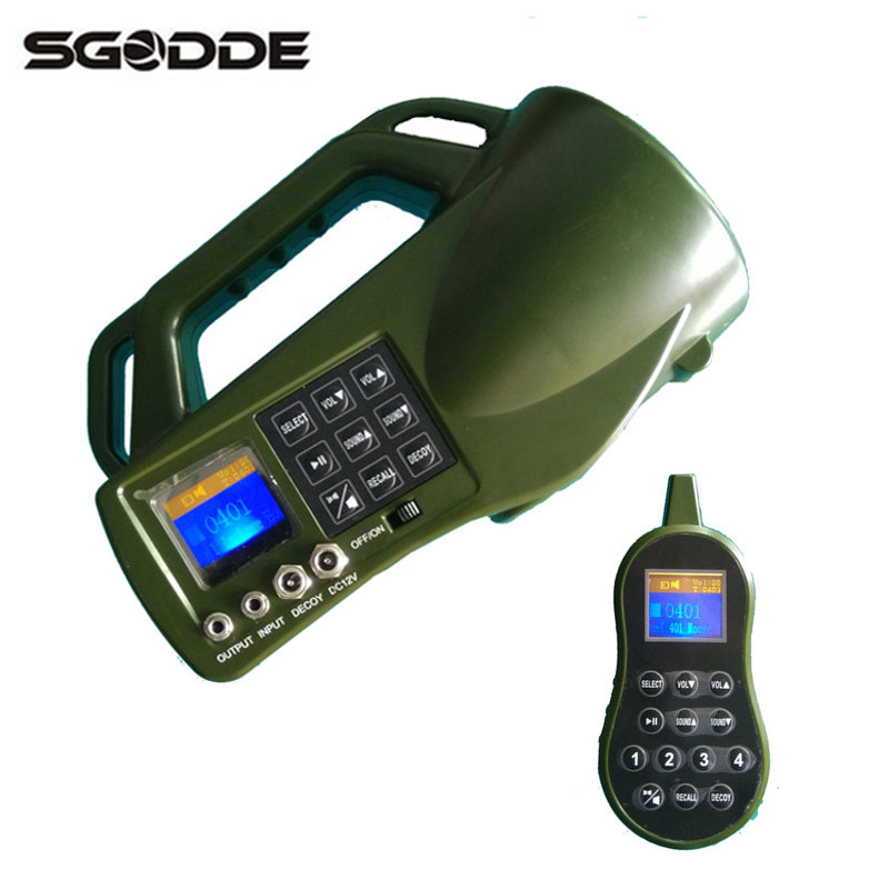 Hot Hunting Decoys Device Electronic Game Caller With 35W Loud Speaker MP3 Bird Call Buit-in 403 Animal Sounds Traps for Hunting