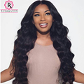 Lace Frontal Closure With Bundles Body Wave 360 Lace Frontal With Bundle 8A Grade Indian Virgin Hair With 360 Lace Frontal