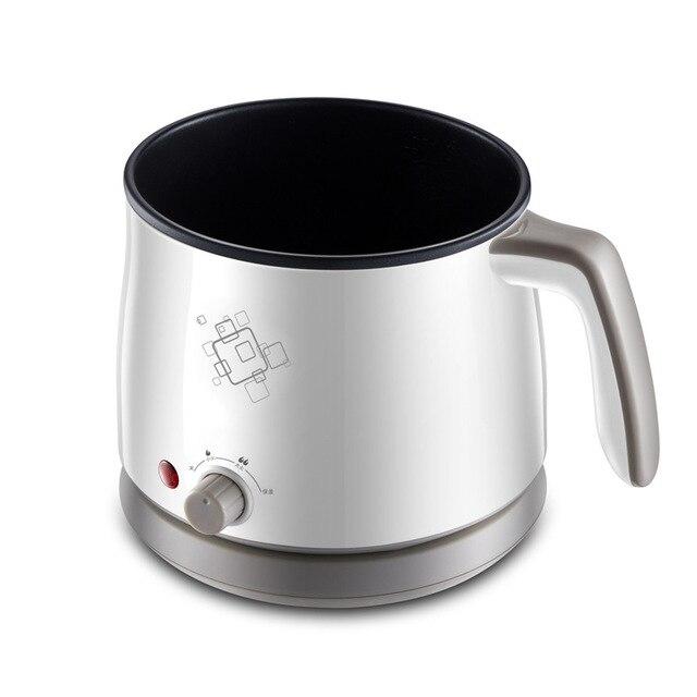 Kbxstart 1.5L Multifunction Electric Cooking Pot Heating Pan Noodles Rice Cooker Hot Pot Food Multi Cooker Machine Steamer 220V 4