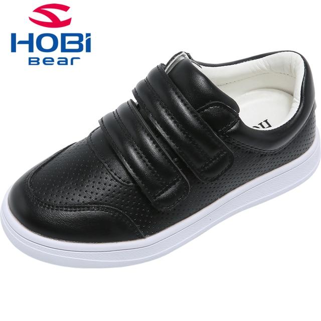 36f5c02d92d KidsShoes for Children Boys Casual Black School Shoes for Girls Sneaker Kids  Fashion Shoes Breathable Walk HOBIBEAR GS3507