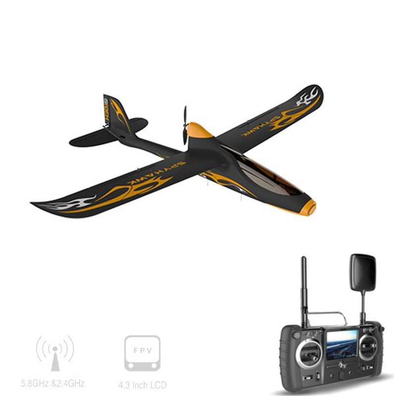 Hubsan H301S HAWK 5.8G FPV 4CH RC Airplane RTF With GPS Module Transmitter and 1080P HD Camera hubsan h301s spy hawk 5 8g fpv 4ch rc airplane rtf with gps module
