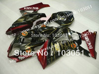7 gifts high grade for SUZUKI GSXR 1000 2007 fairing GSXR 1000 fairings 2008 fairing K7 K8 07 08 glossy chinese red with black s