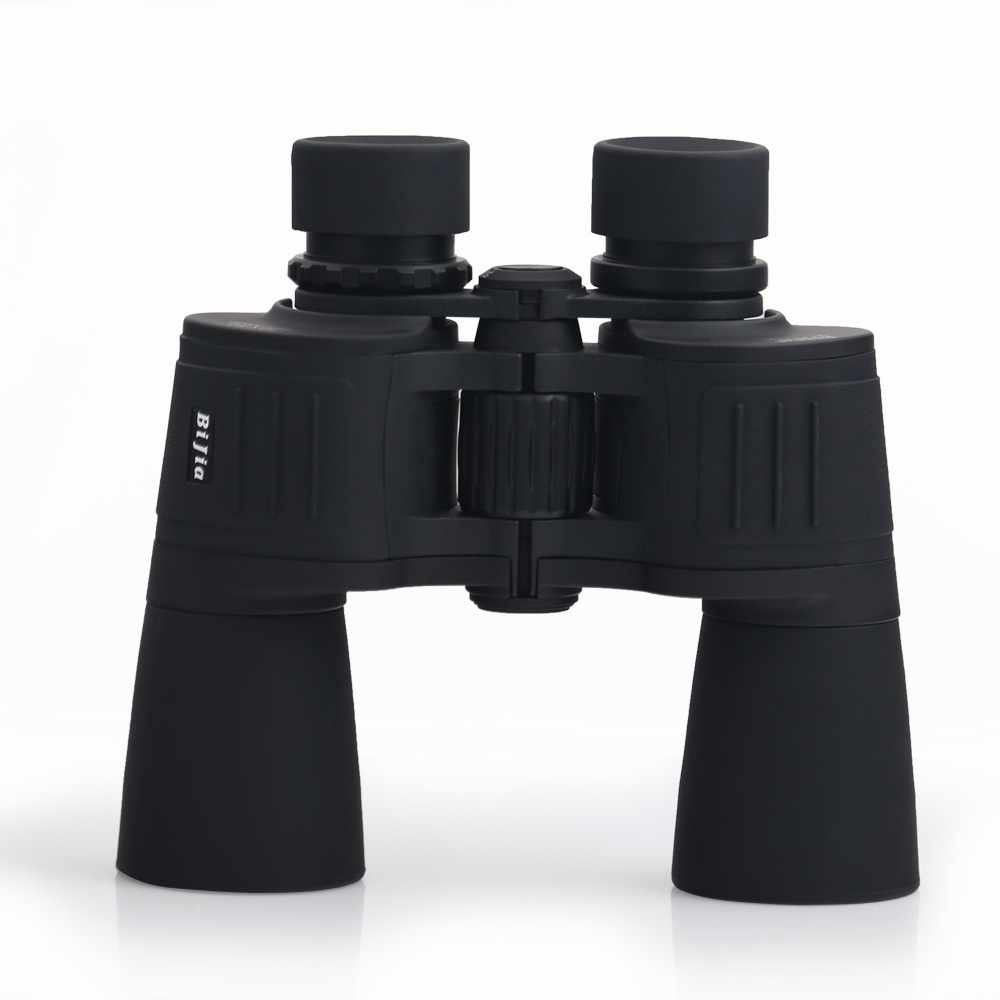BIJIA 10X high powered waterproof fogproof night vision binocular Telescope 10x50 zoom Binoculars For Hunting стоимость
