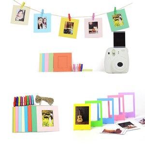 Image 4 - 6 in 1 Colorato Fascio Kit Set di Accessori per Instax Mini 9 8 8 + 7 s 70 90 25 macchina fotografica Assortiti Pack di Accessori di Album Cornici ecc