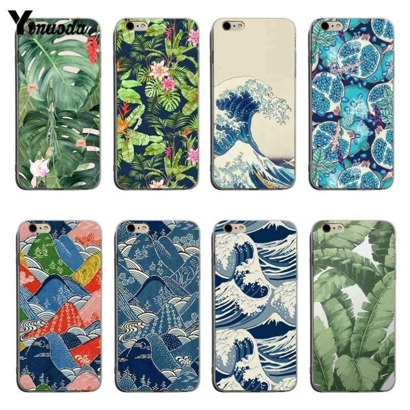 Yinuoda พืชเขตร้อนสำหรับ iPhone XSMax X XS XR 7 7 Plus 8 8 plus 6 6 วินาที 6 plus