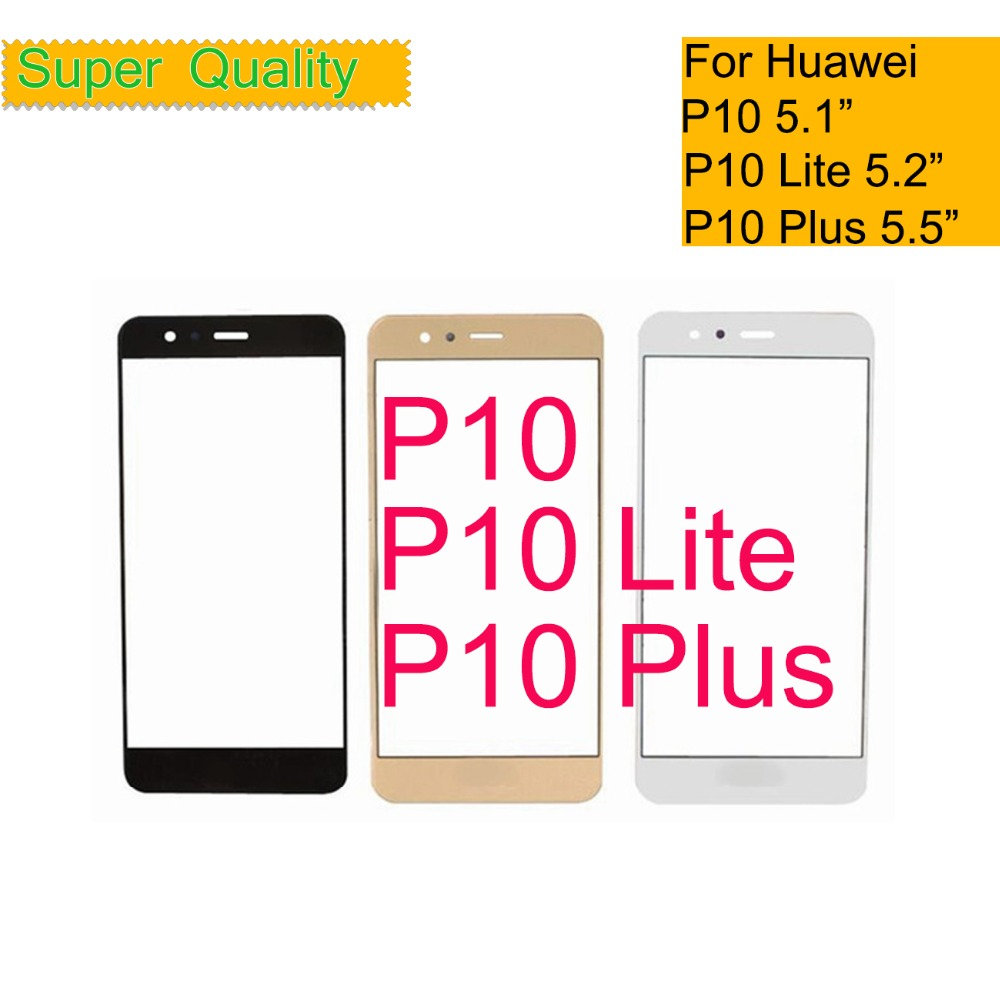 For Huawei P10/P10 Lite/P10 Plus Touch Screen P10Lite Touch Panel Sensor Digitizer Front Glass Outer LCD LENS Replacement