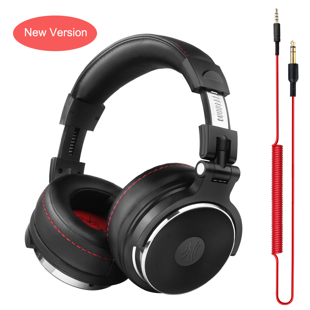 Oneodio Wired Headphones Studio Professional DJ Headphone with Microphone Over Ear Monitor Studio Headphones DJ Stereo Headsets купить в Москве 2019