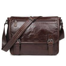 """13 """"портфель для ноутбука сумки на плечо из коровьей кожи"""